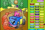 Kids Coloring Car's