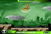 Ben 10 Alien Force The City Fall Down