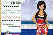 Beach Girl Dressup