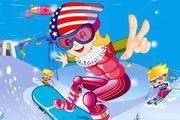 Pro Snowboarder Girl