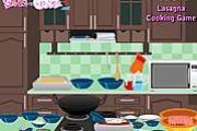 Lasagna Cooking