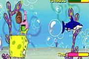 Sponge Bob Square Pants: Shell Throwing