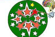 Mandala Stars Coloring