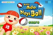 Baby Ada Plays Ball
