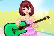 Soft Guitar Girl