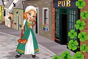 Irish Beauty Dress Up