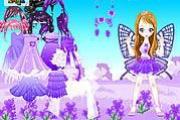 Purple Butterfly Dress Up